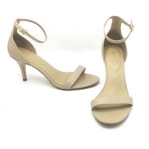 SIZE 7.5 ALDO Leather High Heal Dress Shoes EUC